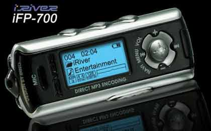 ��� ������� ������� ��� ��3 ������ IRIVER IFP-700 HIGH SPEED